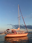 37' Hunter Cherubini Sailboat - $19500